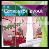 High definition Waterproof Non-woven cloth for blank canvas banner