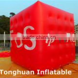 Helium balloon advertising/ inflatable flying cube balloon                                                                         Quality Choice