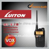 2 band walkie talkie LT-UV2 with dual band antenna