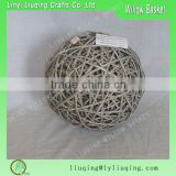 Wicker Garden balls decoration / Christmas ball / Decorating christmas big balls