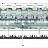 chain stitch (looping) mixed type embroidery machine