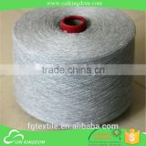 2015 Trade Assurance waxed cotton yarn for name brand hand knit socks knitting light grey color 8s to 24s