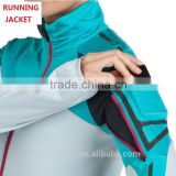 Women's 90% Dri-Fit 10% Spandex Running Jackets with Cell Phone Pocket at Upper Arm, Moisture Wicking Running Wear for Women                                                                         Quality Choice