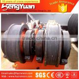 Potent quality 50 QC staffs keen price Hot Forged bridge crane rail wheel for crane