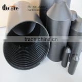 hdpe Shrink steel pipe plastic end cap/ cable top hat with adhesive