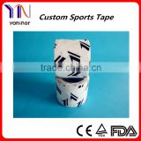 100% Cotton Printed Stars Athletic / Sport Tape Manufacturer CE FDA ISO