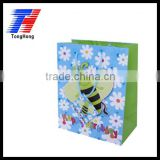 kids' birthday gift paper bags camouflage printed paper bag