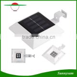 4 LED Solar Powered Induction Sensor Light Outdoor Roof Gutter Fence Garden Yard Lawn Wall Pathway Driveway Led Lamp