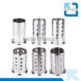 stainless steel chopstick and spoon rest tube & chopstick holder