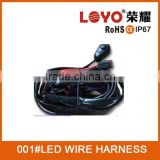 Automotive Wire Harness /Electric Cable Assemblies Harness for led light bar automotive wire harness