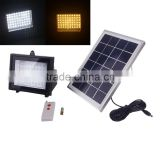 water proof high bright factory price high efficiency garden solar flood lighting for night lighting