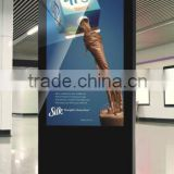 55inch digital interactive signage with built in Andriod or Windows 8 mother board optional