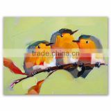 Wholesale High Quality Modern Animal Theme Canvas Birds Oil Painting