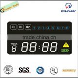 blue led digital clock display 7 segment digital led clock display led digital clock display