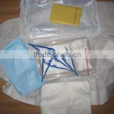 Sterile disposable surgical dressing pack ,Basic dressing kit