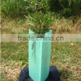 Triangle shape corflute tree protector