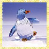 New Designed Engraving Colors Crystal Penguin For Holiday Gifts