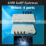 Hot voip product! 4 ports gsm voip gateway,dual sim voip gateway