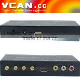 ISDB-T7800 Car ISDB-T set top box Full One Seg Mini B-cas card for Japan With Four Tuner