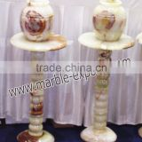 cheap price onyx marble vases