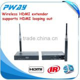 Pinwei PW-DT211W 200M (656FT) wireless HDbitT HDMI AV transmitter extends high definition audio and video to any HDTV display