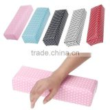 Professional Nail Art Hand Cushion Holder Soft Leather Arm Rest Nail Pillow Manicure Accessories Tool Removable Hand