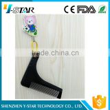 Beard and eyebrows trimmer beard comb facial hair shaping tool for sale