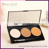 2016 Hottest tw foundation cosmetics, 3 colors Face Waterproof Makeup Compact Powder