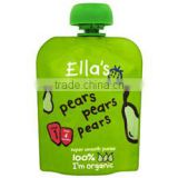 Ella's Kitchen Organic Smooth Pear Puree Stage1 70g