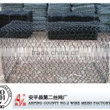 Galvanized Iron Wire Material and Square Hole Shape pvc coated welded hexagonal gabion basket/gabion box/gabion mesh
