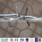 cheap price galvanized iron wire hot dipped or electro/Double strand barbed wire Galvanized /pvc coated tie wire