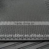 BUBBLE TOP / FINNED RIB RUBBER MATS