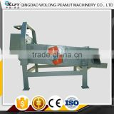 High frequency groundnut sieving vibrating screen mobile stone separator machine