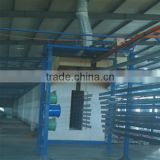 golden supplier full-automatic gas painting oven,powder coating line