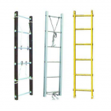 Aluminum folding Steps Horizontal Ladder