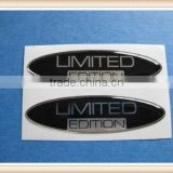 hot sale 2 OEM OVAL LIMITED EDITION DOMED STICKERS