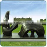 Inquiry about outdoor decorative bronze abstract sculpture for sale