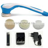 As seen on TV Spinning Spa Brush waterproof electric bath brush with massage function