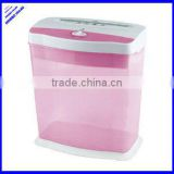 Office plastic mini manual colorful paper shredder