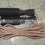 (HOT SALES!)Leather jump rope,PVC JUMP ROPE,COUNTER JUMP ROPE,FITNESS ROPE