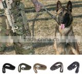 Tactical Dog Leash Military Training Tactical Bungee Leash Combat US Amry Dog Lead Harness Collar Nylon Coyote 5 colors
