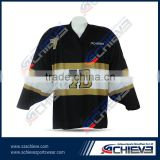 100% Polyester Ice Hockey wear,custom cheap team iceHockey jerseys,bestselling sublimation ice hockey