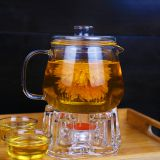 strong Glass tea set glass coffee set  hot water glassware wholesale glass teaset