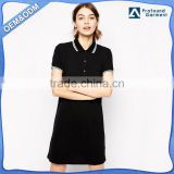 wholesale custom colors latest design fashion casual sports dress women golf wear ladies polo dress shirts manufacturer