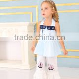 2017 New style children clothes clothing sets and conice kids outfits cheap baby girl clothes sets from shopping clothes