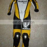 Leather Motorbike Suit/Genuine Leather Motorcycle Suit/Racing Leather Suit/ Biker Men Leather Suits