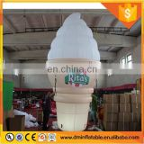 2016 Giant inflatable ice cream with LED light for advertising