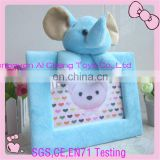 custom newest fashion plush animals photo frame