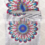 Indian Mandala Duvet Doona Cover Bohemian Ethnic Duvet Cover With Pillow Cover Decor