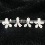 Cute Pearl Wedding Bridal Flower U Shaped Hair Pin
